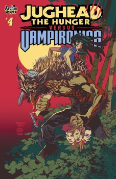 Archie Comics' Jughead: The Hunger Vs. Vampironica Issue #4 Cover A by Tim Kennedy