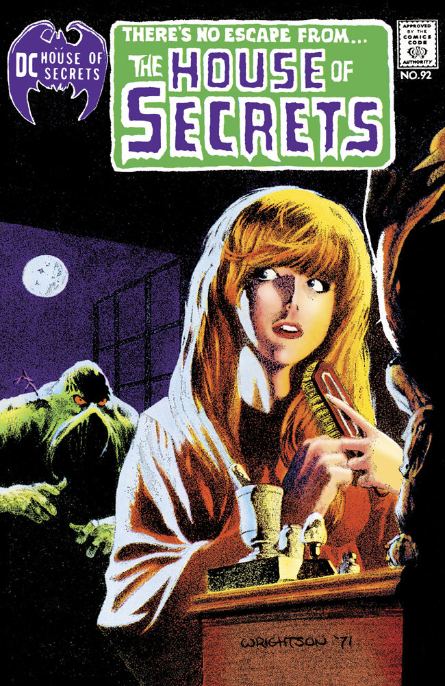 DC Comics The House of Secrets Issue #92 Facsimile Edition Cover by Bernie Wrightson