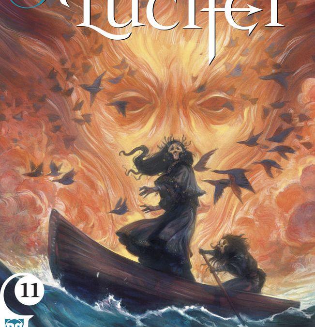 DC Vertigo's Lucifer Issue #11 Cover by