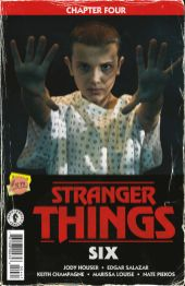 Dark Horse Comics' Stranger Things: SIX Issue #4 Cover D by Patrick Satterfield