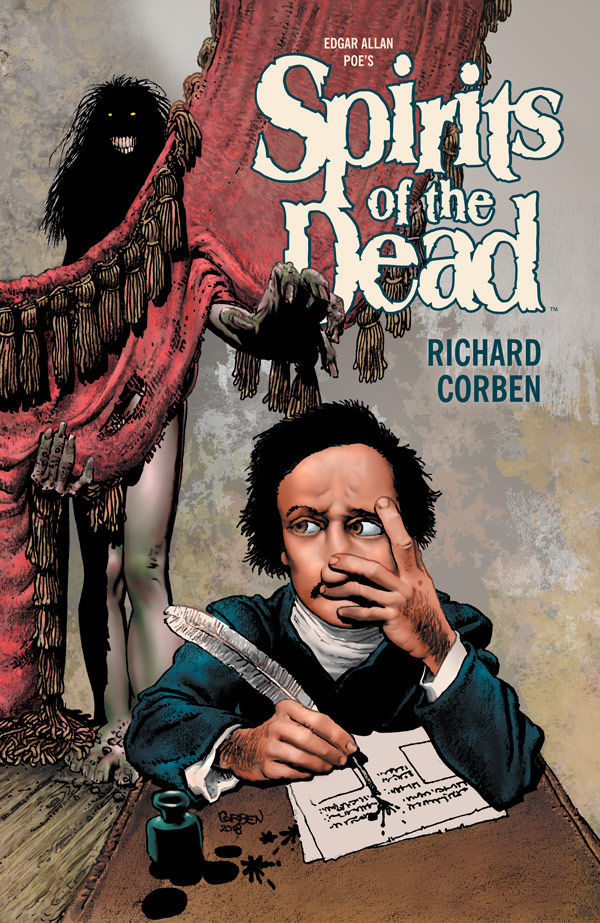 Dark Horse Comics' Spirits of the Dead Paperback Graphic Novel Cover by