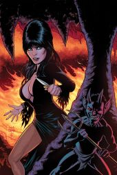 Dynamite Entertainment's Elvira: Mistress of the Dark Issue #8 Cover B (Virgin) by Craig Cermak