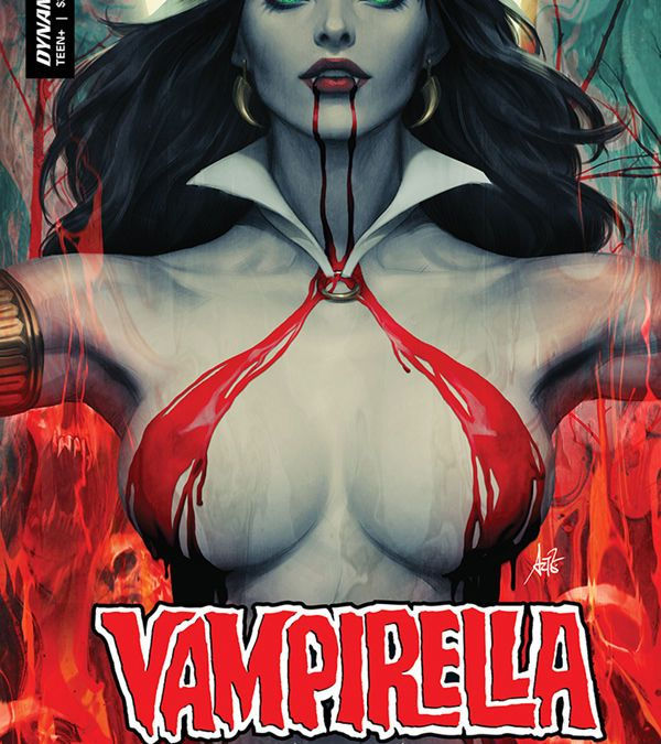 "Dynamite Entertainment's Vampirella Vol. 5 Issue #2 Cover A by Stanley ""Artgerm"" Lau"