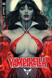 "Dynamite Entertainment's Vampirella Vol. 5 Issue #2 Cover A by Stanley ""Artgerm"" Lau"