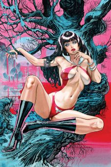 Dynamite Entertainment's Vampirella Vol. 5 Issue #2 Cover B (Virgin) by Guillem March