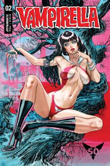 Dynamite Entertainment's Vampirella Vol. 5 Issue #2 Cover B by Guillem March