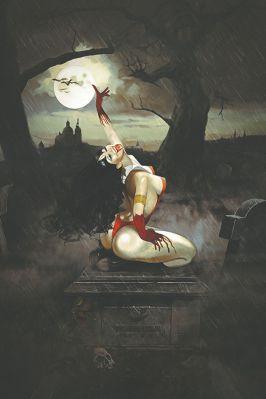 Dynamite Entertainment's Vampirella Vol. 5 Issue #2 Cover C (Virgin) by Fay Dalton