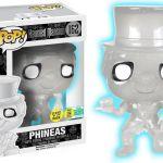 Funko Pop! Disney #162 Haunted Mansion Phineas [Glitter, Glow-in-the-Dark, White]