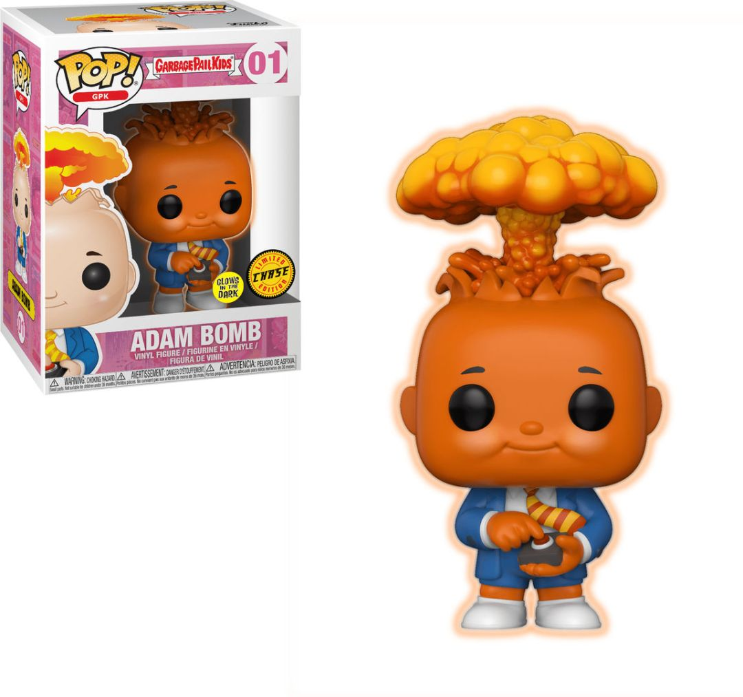 Funko Pop! GPK #01 Garbage Pail Kids Adam Bomb [Glow-in-the-Dark]