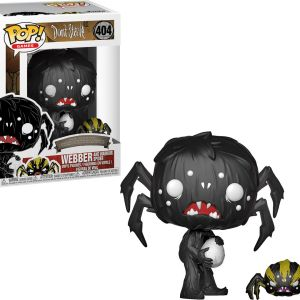 Funko Pop! Games #404 Don't Starve Webber And Warrior Spider