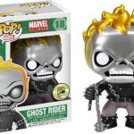 Funko Pop! Marvel #18 Marvel Universe Ghost Rider [Metallic]