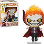 Funko Pop! Marvel #412 Marvel Doctor Strange (Ghost Rider) [Glow-in-the-Dark]
