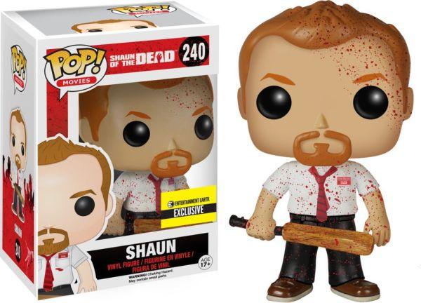 Funko Pop! Movies #240 Shaun of the Dead Shaun [Bloody]