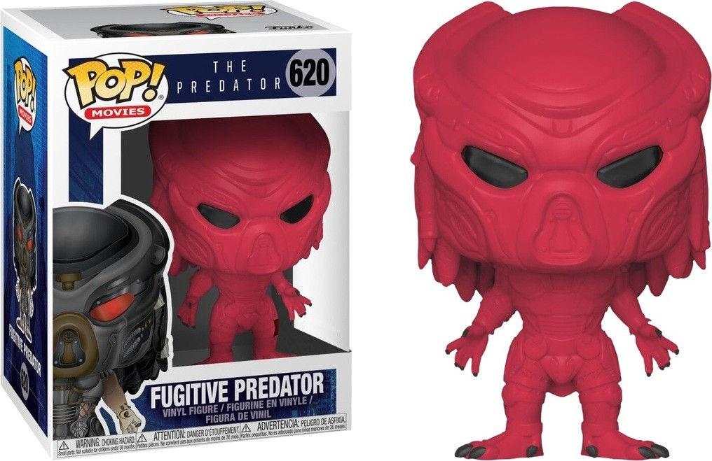 Funko Pop! Movies #620 The Predator Fugitive Predator [Red]