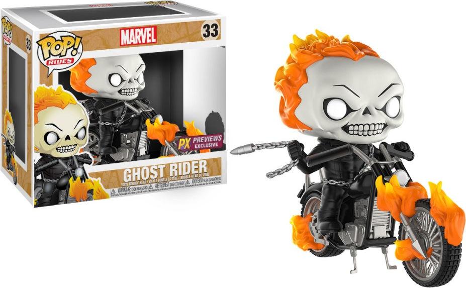 Funko Pop! Rides #33 Marvel Ghost Rider