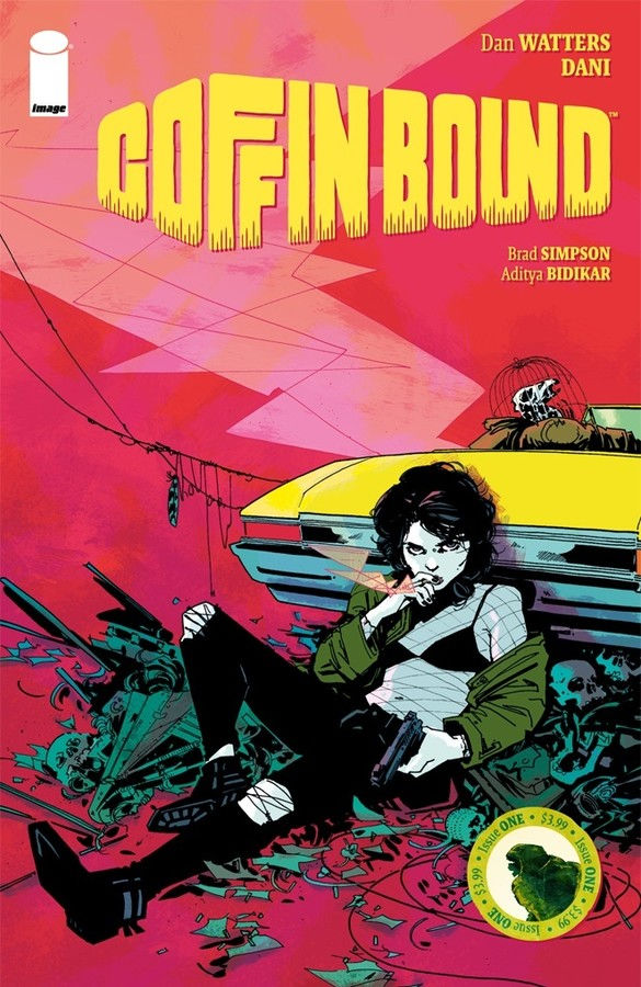 Image Comics' Coffin Bound Issue #1 Cover by Dani