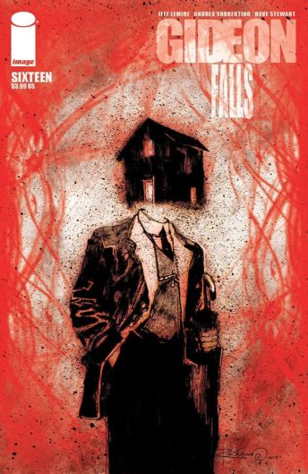 Image Comics' Gideon Falls Issue #16 Cover B by Ray Fawkes