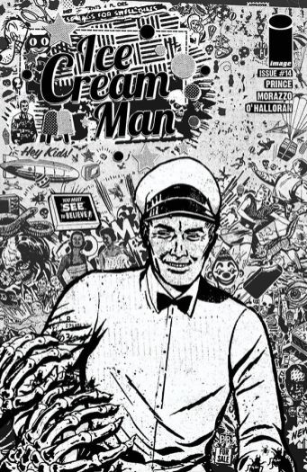 Image Comics' Ice Cream Man Issue #14 Cover B by Paul Rentler