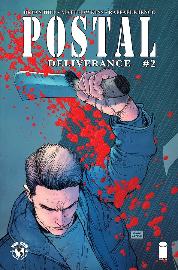 Image Comics & Top Cow Productions' Postal Deliverance Issue #2 Cover by Raffaele Ienco