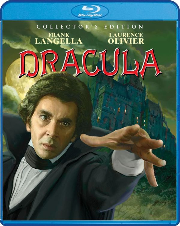 Shout! Factory's Scream Factory Dracula (1979) Collector's Edition Blu-ray Cover