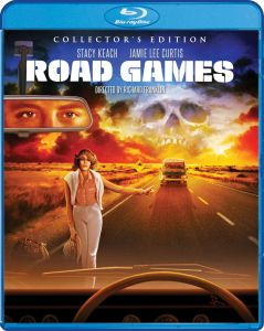 Shout! Factory's Scream Factory Road Games (1981) Blu-ray Cover