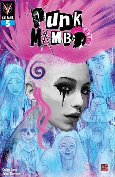 Valiant Entertainment's Punk Mambo Issue #5 Cover B by Zu Orzu