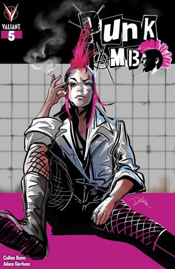 Valiant Entertainment's Punk Mambo Issue #5 Cover C by Cris Delara