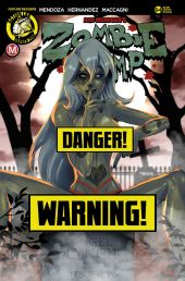 Action Lab Danger Zone Zombie Tramp Issue #94 Cover D (Risque) by Mastajwood