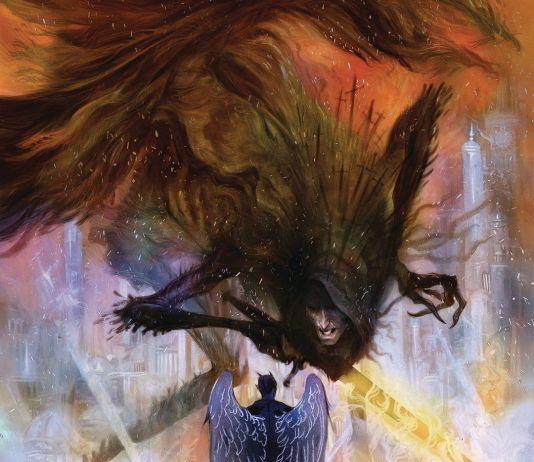 DC Vertigo Lucifer Issue #12 Cover A by Tiffany Turrill