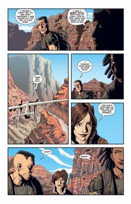 Dark Horse Comics Aliens: Rescue #3 Preview Page 3