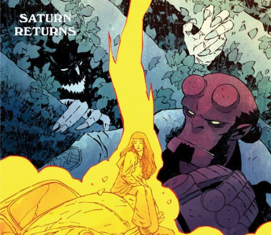 Dark Horse Comics Hellboy and the B.P.R.D.: Saturn Returns Issue #2 Cover A by Christopher Mitten