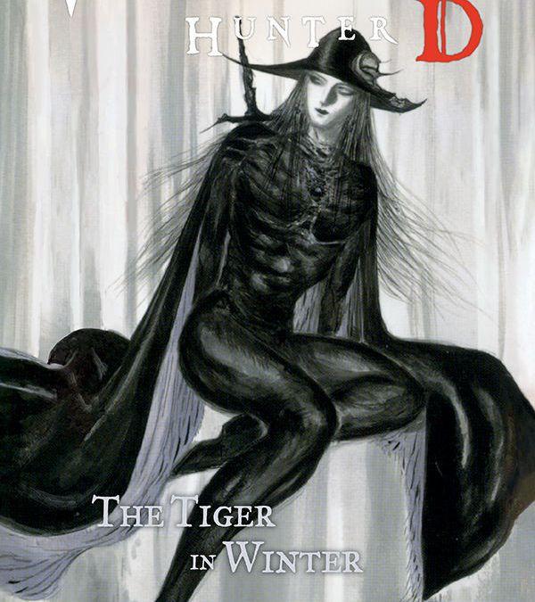 Dark Horse Comics Vampire Hunter D Volume 28 The Tiger in Winter Cover by Yoshitaka Amano