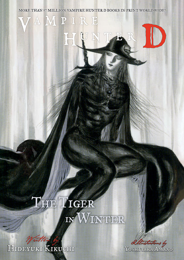 Dark Horse Comics Vampire Hunter D Volume 28 The Tiger in Winter Cover by Yoshitaka Amano
