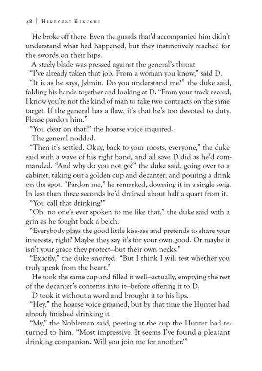 Dark Horse Comics Vampire Hunter D Volume 28 The Tiger in Winter Page 6