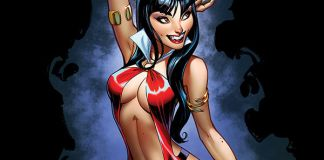 Dynamite Entertainment Vampirella Vol. 5 Issue #3 Cover A by J. Scott Campbell