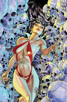 Dynamite Entertainment Vampirella Vol. 5 Issue #3 Cover B (Virgin) by Guillem March