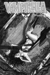 Dynamite Entertainment Vampirella Vol. 5 Issue #3 Cover C (Black & White) by Fay Dalton