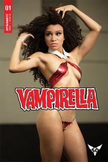 Dynamite Entertainment Vampirella Vol. 5 Issue #3 Cover E Cosplay