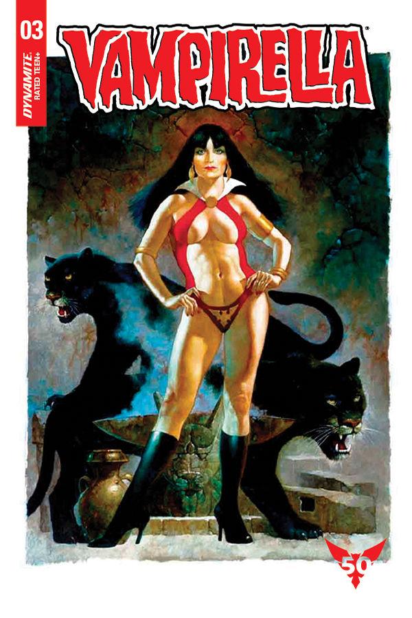 Dynamite Entertainment Vampirella Vol. 5 Issue #3 Cover F by Sanjulian
