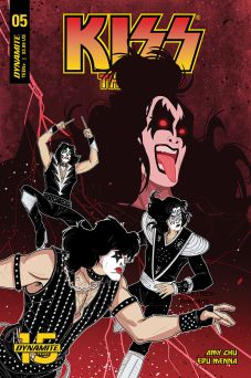 Dynamite Entertainment KISS: The End Issue #5 Cover C by Denis Medri