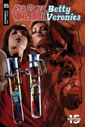 Dynamite Entertainment Red Sonja & Vampirella Meet Betty & Veronica #5 Cover E by Cat Staggs