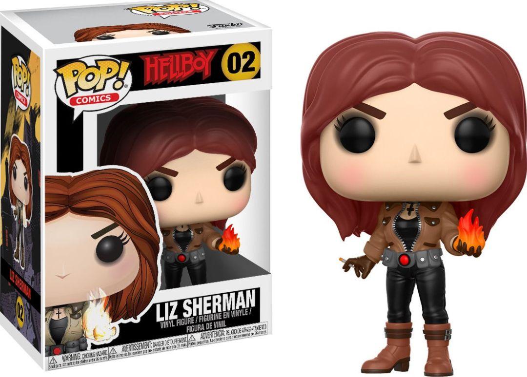 Funko Pop! Comics #02 Hellboy Liz Sherman
