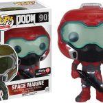 Funko Pop! Games #90 Doom Space Marine [Red]