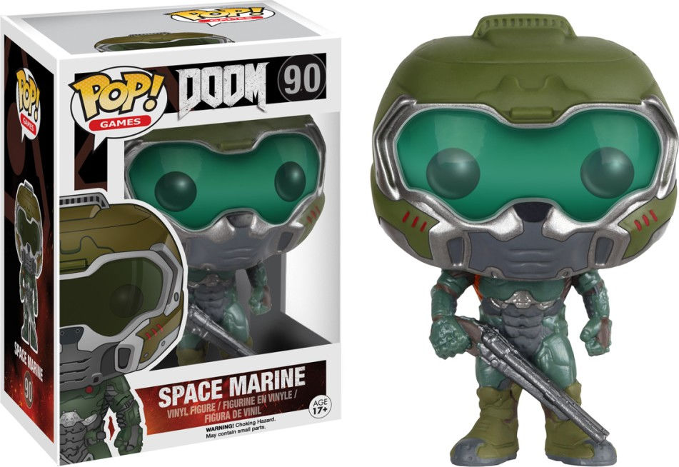 Funko Pop! Games #90 Doom Space Marine