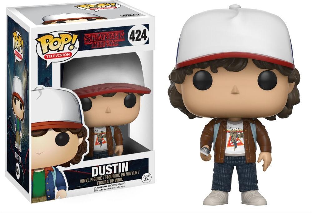 Funko Pop! Television #424 Stranger Things Dustin [Brown Jacket]