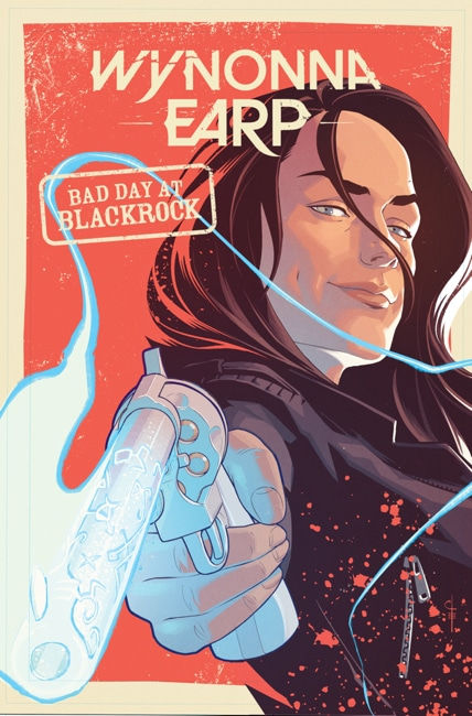 IDW Publishing Wynonna Earp Bad Day at Black Rock Graphic Novel Cover by Chris Evenhuis