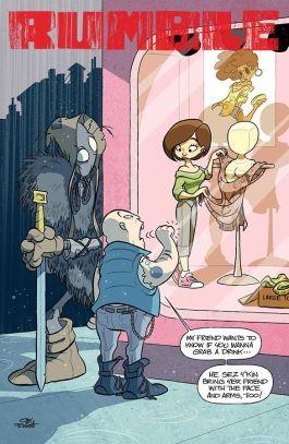 Image Comics Rumble Issue #16 Cover B by Jay Fosgitt