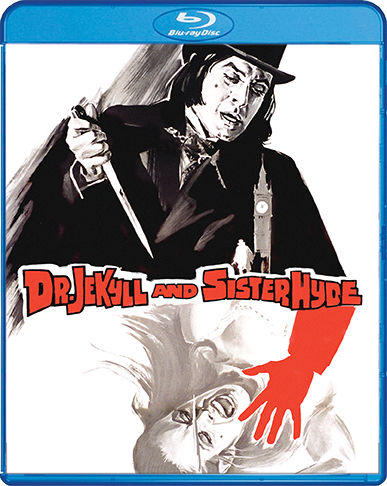Scream Factory Dr. Jekyll and Sister Hyde Blu-ray Cover