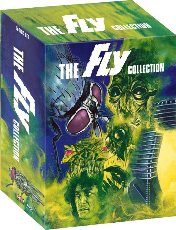 Scream Factory The Fly Blu-ray Collection Box Art