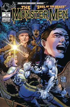American Mythology Productions The Monster Men: Soul of the Beast #1 Cover A by Roy Allan Martinez